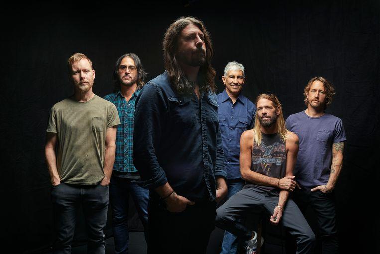 De Foo Fighters in 2020. Beeld Danny Clinch