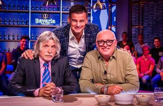 Johan Derksen, Wilfred Genee en Rene van der Gijp.