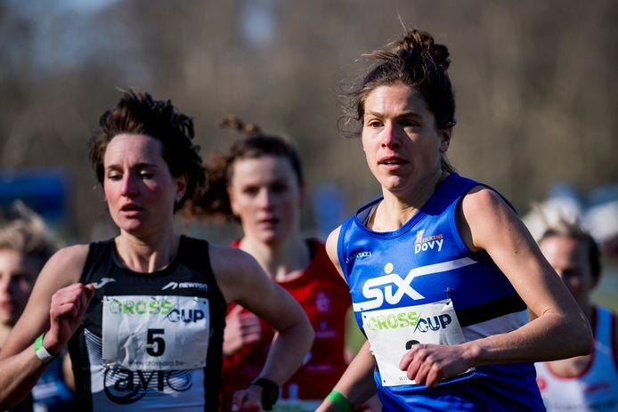 """Hanna Vandenbussche hier in actie op het Belgisch kampioenschap veldlopen: """"Ik heb de CrossCup afgelopen winter enorm gemist."""""""