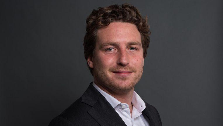 D66-lijsttrekker Reinier van Dantzig. Beeld Mats van Soolingen