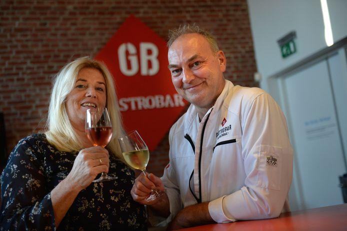 Manita en kok Gaston van Gastrobar Bij Rozendaal