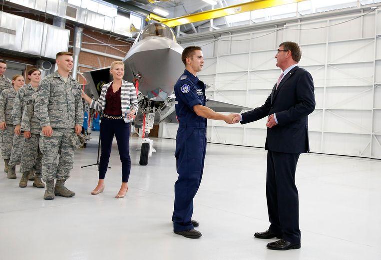 Nellis Air Force Base Beeld afp