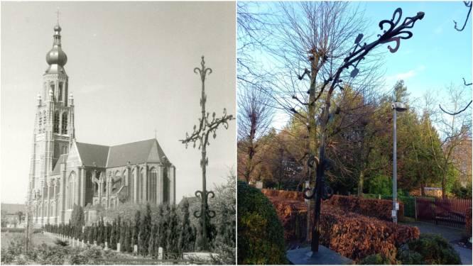 Torenkruis uit 16de eeuw wordt hersteld en verplaatst