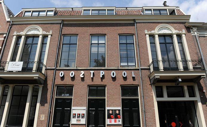Het theater van Oostpool aan de Arnhemse Nieuwstraat.