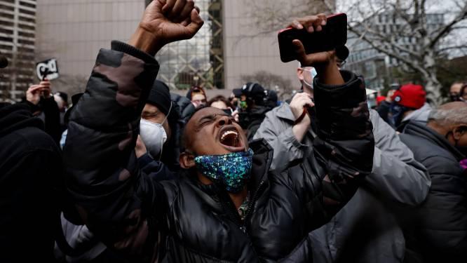Vreugde op straat in VS na veroordeling Chauvin