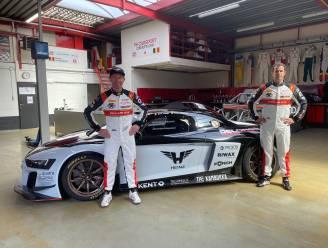 Peter Guelinckx en Bert Longin met Audi R8 LMS GT 2 aan de start van nieuw Europees GT-kampioenschap