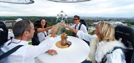 """""""Dinner in the Sky"""" de retour pour un repas à 50 mètres de hauteur"""
