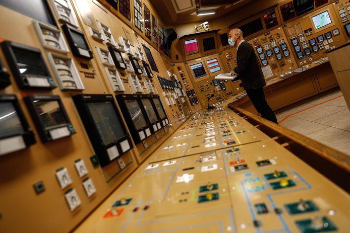 De controlekamer van de kerncentrale van Paluel. (archieffoto)