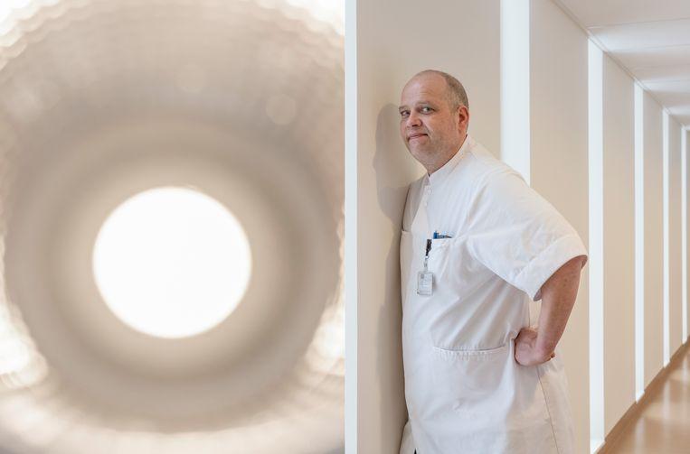 Sander de Hosson: 'Het kan mij niet vaak genoeg over palliatieve zorg gaan'. Beeld Patrick Post