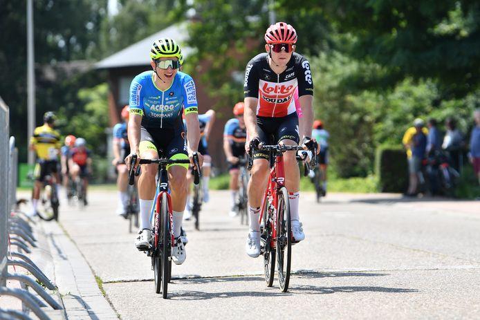 Sander Lemmens (links) en Jente Boons (rechts) zijn twee Limburgse sterkhouders in Brussel-Zepperen.