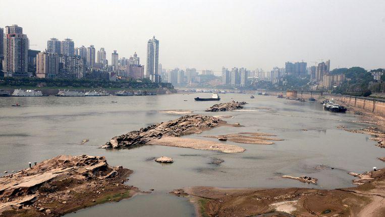 Stedelijk gebied Chongqing. Beeld afp
