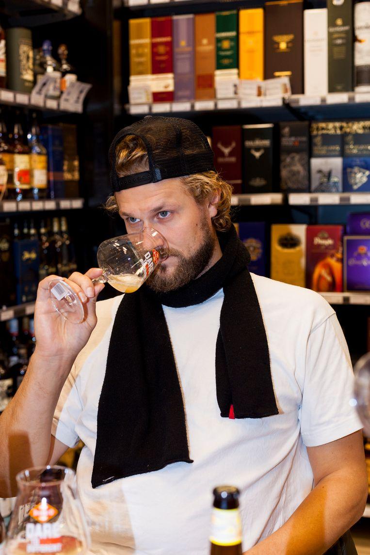 Joris Bijdendijk: chef van restaurant Rijks.  Beeld Renate Beense