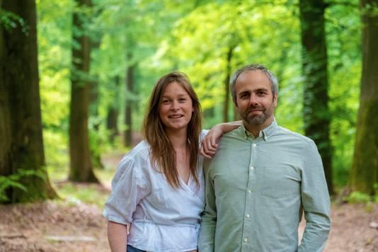 Marlou Jacobs en Godfried van Loo van reisplatform Reisreport