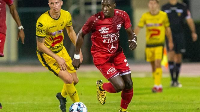 """Milan Cambier helpt KSV Oudenaarde aan eerste zege: """"We blijven naar de top vijf lonken"""""""