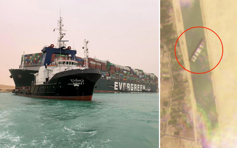 De belangrijkste vaarroute ter wereld is geblokkeerd, waardoor een opstopping van meer dan honderd vaartuigen ontstond.