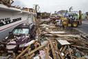 Ravage op Sint-Maarten na het passeren van de orkanen Irma en Maria.