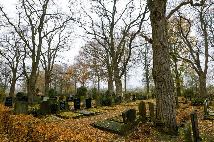 De begraafplaats aan de Tilburgseweg in Sprang-Capelle.