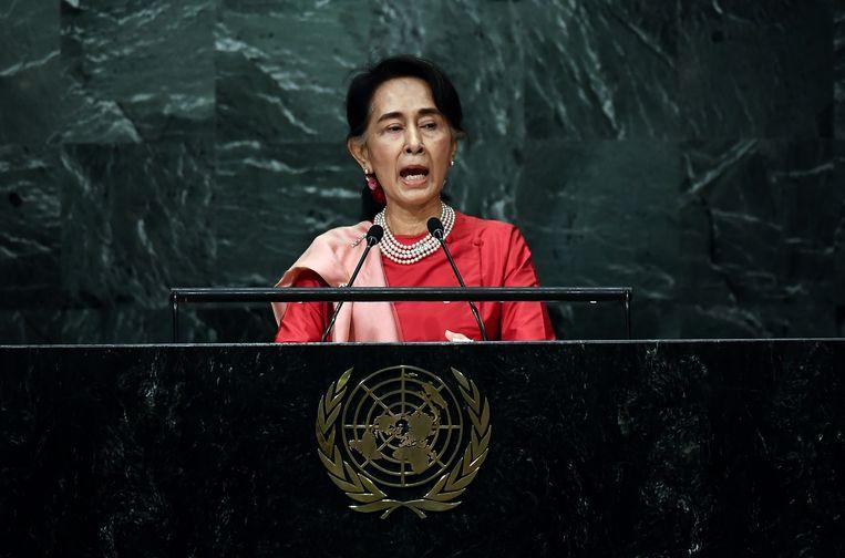 Aung San Suu Kyi Beeld afp