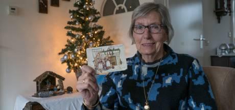 Kerstkaart van overleden nicht Jet na meer dan 40 jaar alsnog bezorgd bij Greetje in Twello