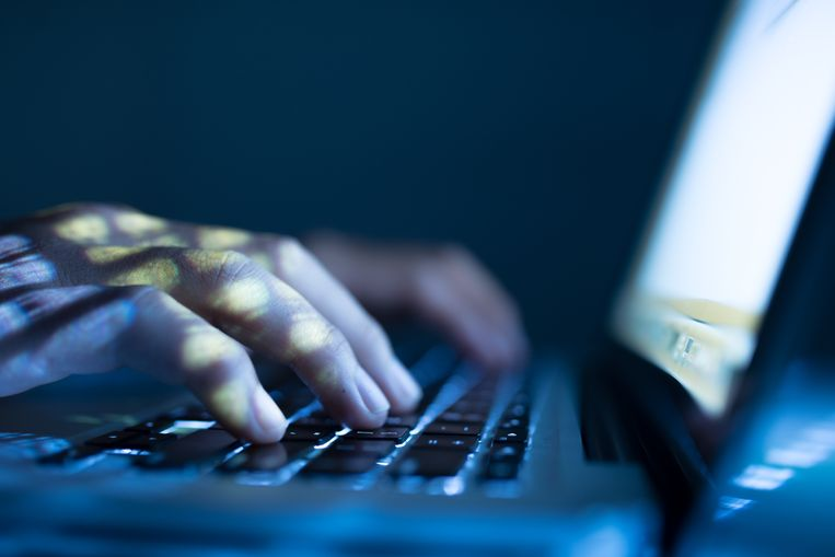 Close-up image of software engineer typing on laptop Beeld Getty Images/iStockphoto
