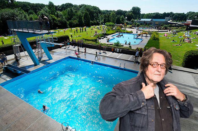 Kees Thies over het zwembad in Zwijndrecht.