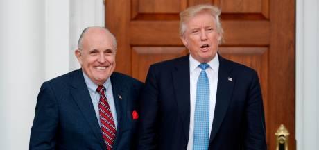 Voormalig burgemeester New York voegt zich bij juridisch team Trump