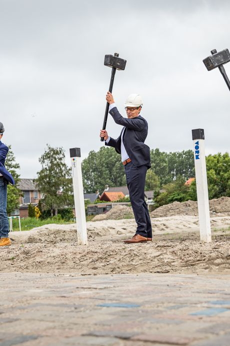 Na ruim dertig jaar weer huizenbouw in Oudenhoorn: 'Een opkikker voor het dorpsleven'