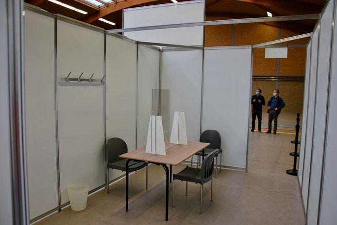 Vaccinatiecentrum Colomba in Kortenberg blijft met de eigen reservelijst werken.