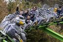 Tijdens een proef kon een groep mensen vorige maand al naar Avonturenpark Hellendoorn. Vanaf volgende week mogen de deuren van pretparken voor meer bezoekers open.