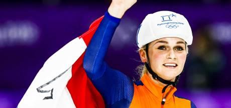 Sterke Irene Schouten pakt brons op eerste olympische massastart