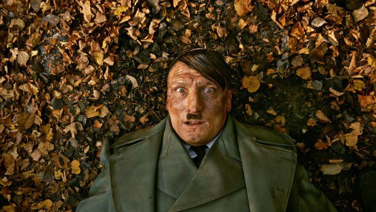 Oliver Masucci in 'Er ist wieder da'. Beeld