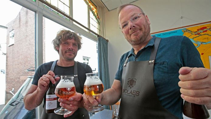 Joost van Welsenis (links) en Cees de Knegt.