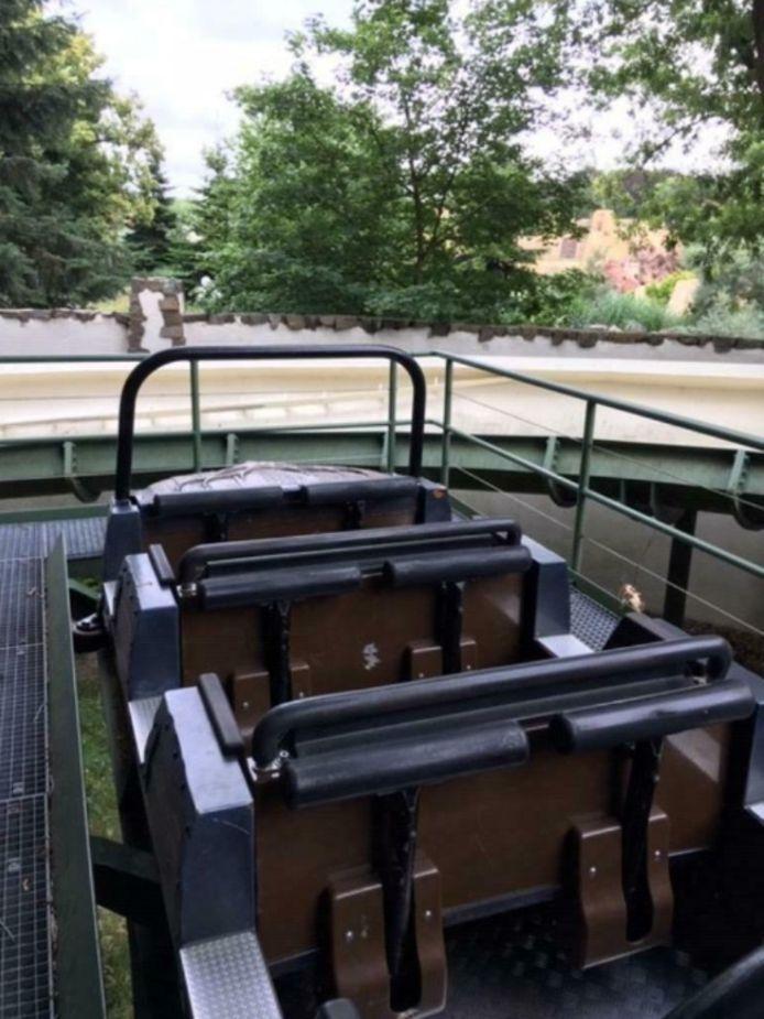 Bobslee Efteling verkocht op Marktplaats