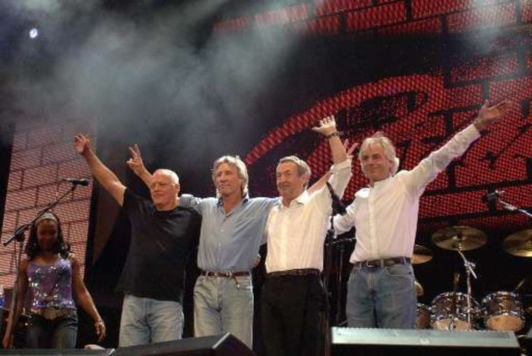David Gilmour, Roger Waters, Nick Mason en Richard Wright. Beeld UNKNOWN