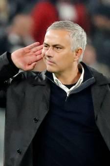 Mourinho daagt Juve-fans uit: 'Ik wilde ze alleen maar wat luider horen'