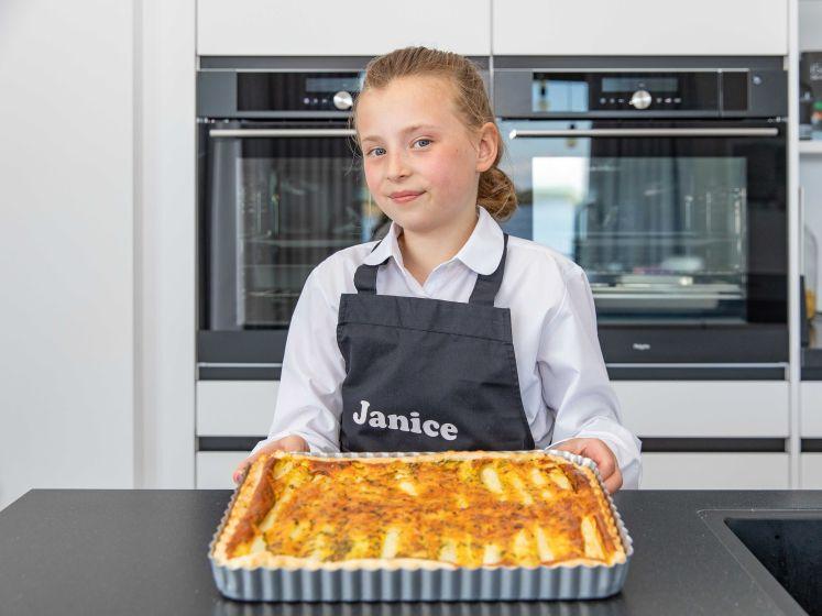 Thuiskoks: Janice maakt aspergetaart