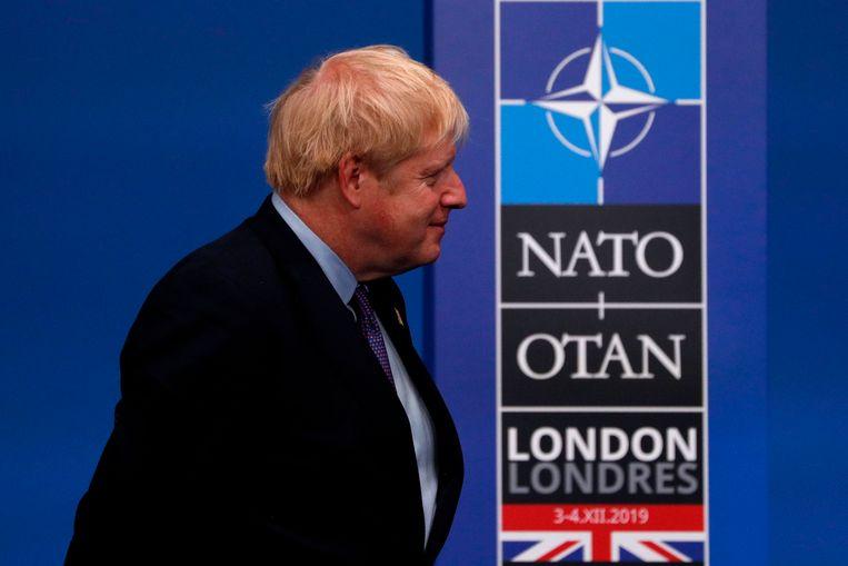 Volgens de Britse premier Boris Johnson is eenheid binnen de NAVO belangrijk om de vrede te handhaven.