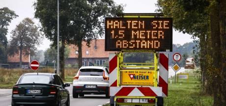 Achterhoekse burgemeesters en Landrat Kreis Borken roepen op met Pasen niet de grens over te steken