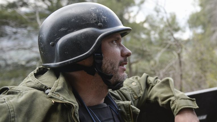 Andrej Stenin, de omgekomen journalist. Beeld reuters
