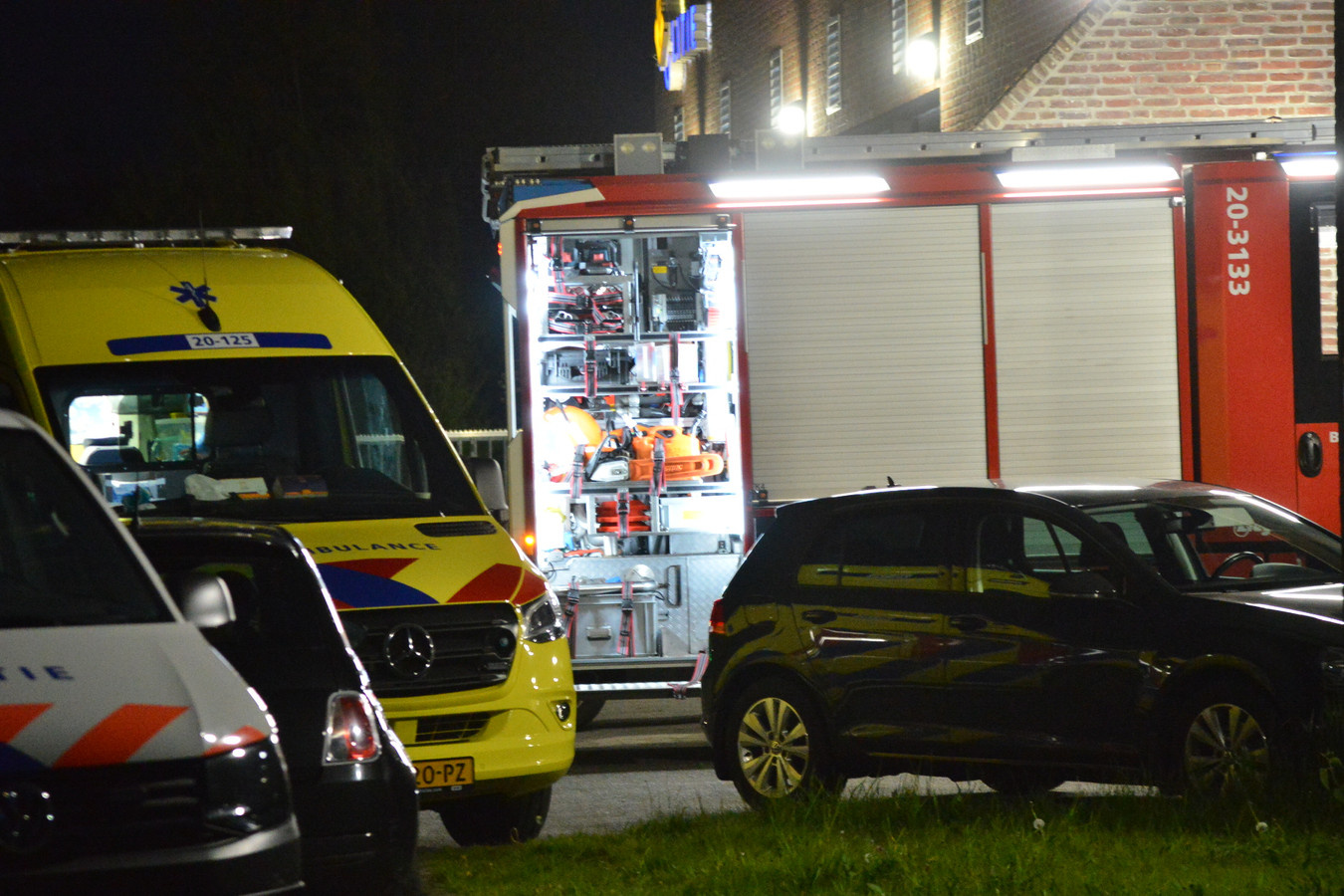 Brand bij cellencomplex Breda.