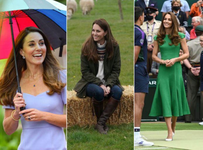 De betekenisvolle garderobe van Kate Middleton.