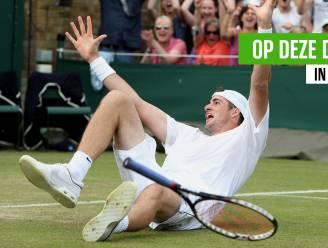 """Tien jaar geleden speelden Mahut en Isner een tennismatch van drie dagen met een basketbaluitslag (70-68): """"Ik vergeet die cijfers niet zolang ik leef"""""""