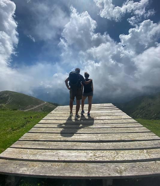 Oostenrijk op 2250 meter hoogte.