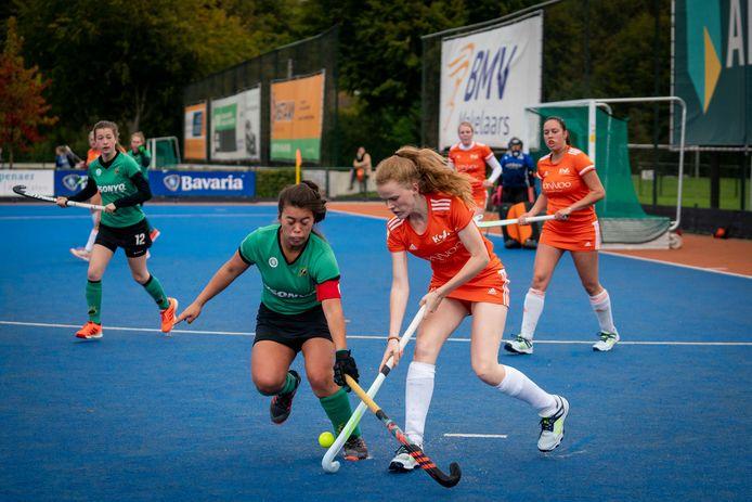 Upward - Union in oktober vorig jaar: de laatste wedstrijd van coach Pepijn van Schooten, zo blijkt nu.