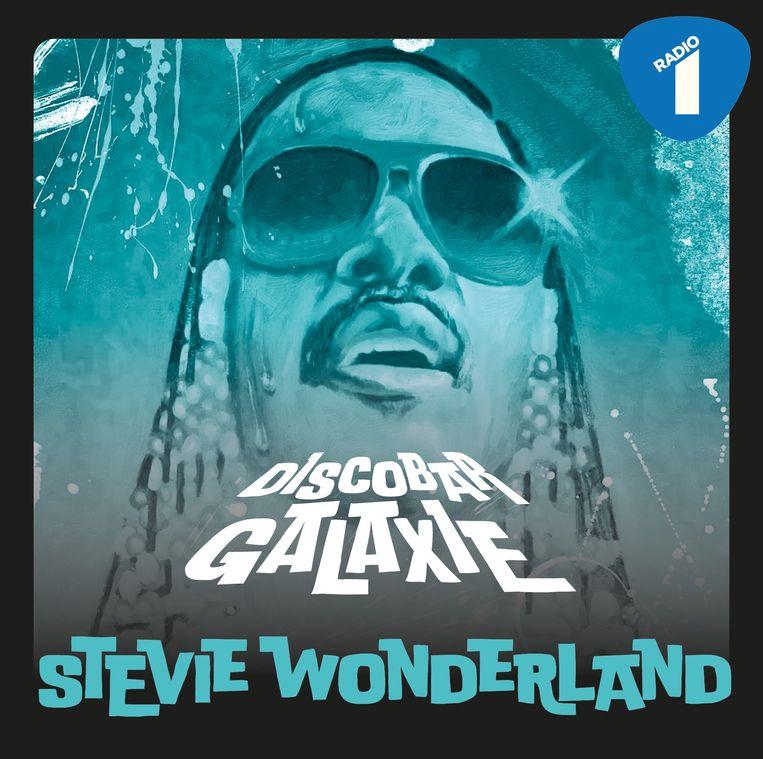 'Stevie Wonderland', een mixtape van Discobar Galaxie, woensdag in 'Wonderland' op Radio 1. Beeld RV