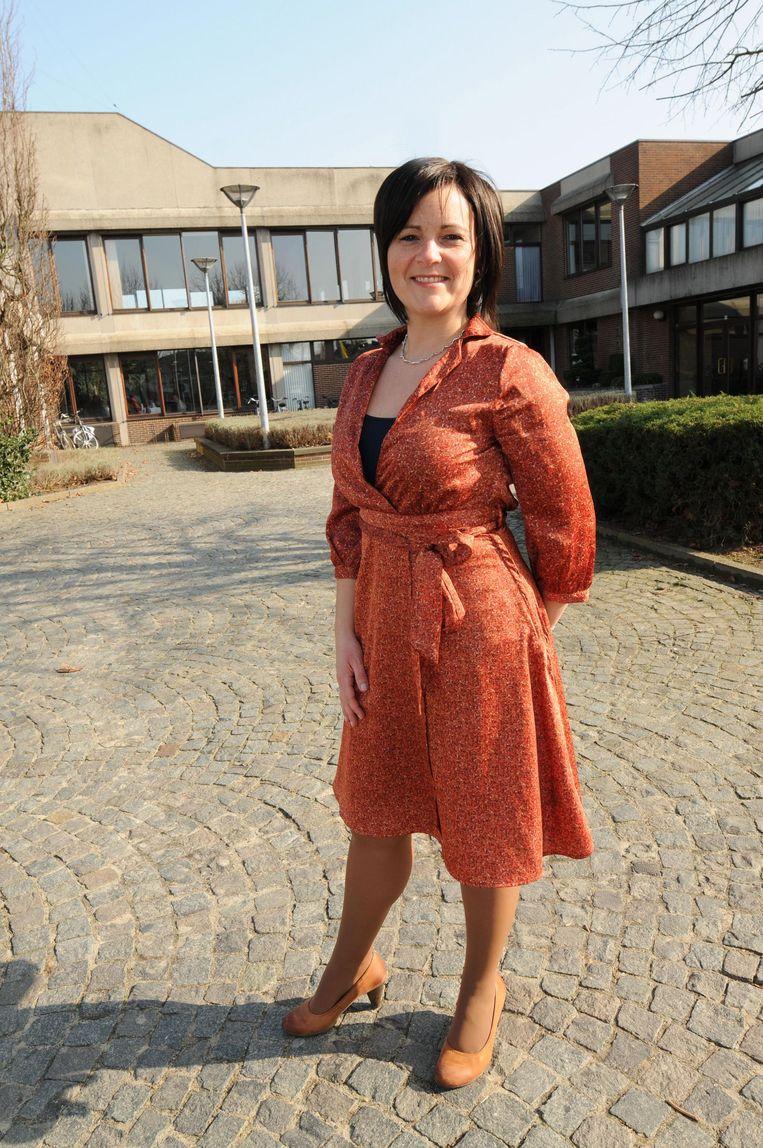 Else De Wachter is aan haar laatste maanden bezig in het gemeentehuis.