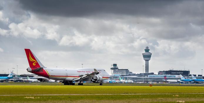Rond vliegvelden mag niet met drones worden gevlogen.