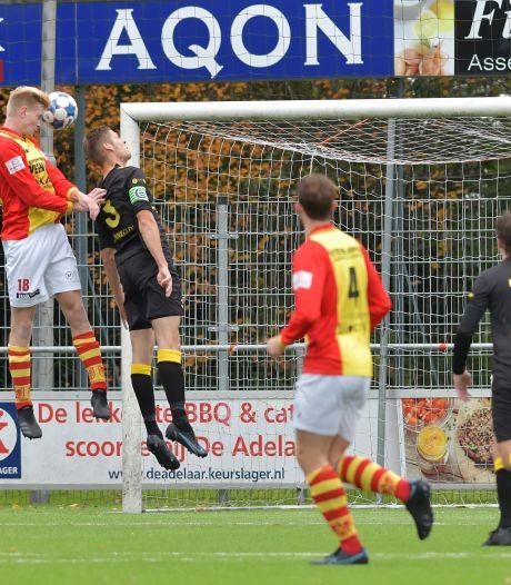 Dit zijn de uitslagen en doelpuntenmakers van het amateurvoetbal in Apeldoorn en omstreken