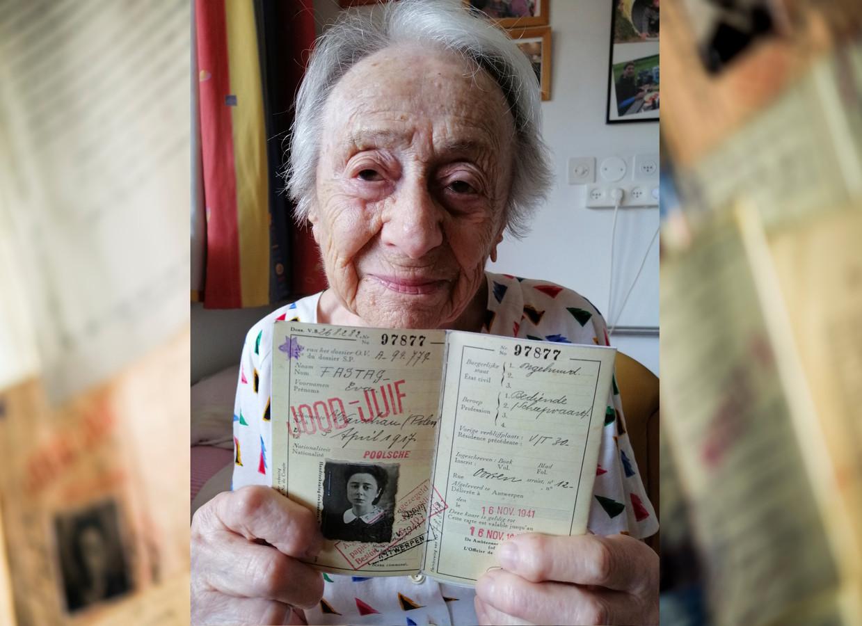 """Eva Fastag (103): """"Dossin was de wachtkamer van de dood. En ik wist het niet. Niemand wist het!"""""""