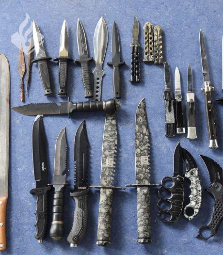 'Anoniem en straffeloos je mes in de ton gooien op het politiebureau', Tilburg haakt aan bij inleveractie